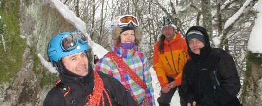 sortie alpinisme du 13 mars avec une sélection de photos