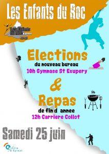 Affiche élections club