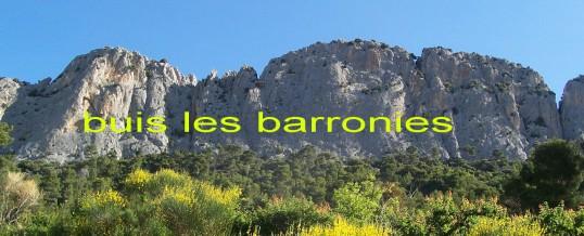 sortie à Buis-les-Baronnies pour  l'ascension du 25 au 28 mai